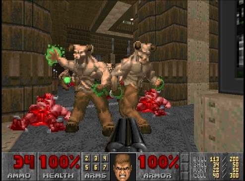 GamerDad: Gaming with Children » Game Review: Doom II (Xbox LIVE)