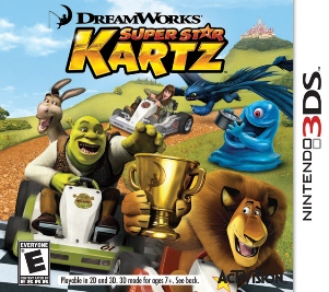 Gamerdad gaming with children dreamworks superstar kartz wii your favorite dreamworks animated characters are ready to race stars from films like shrek madagascar monsters vs aliens and how to train your dragon ccuart Choice Image