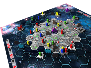 survive space attack board