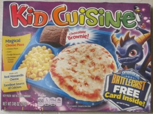 Gamerdad gaming with children tvdinner1 for Are kid cuisine meals healthy