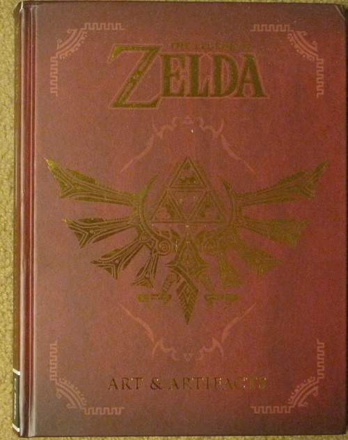 Gamerdad Gaming With Children The Legend Of Zelda Art And Artifacts Book