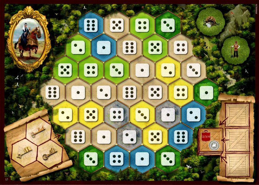 Gamerdad Gaming With Children Unplugged The Castles Of Burgundy Boardgame